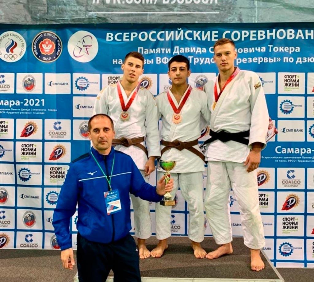 Оренбургские дзюдоисты завоевали 6 медалей на Всероссийских соревнованиях