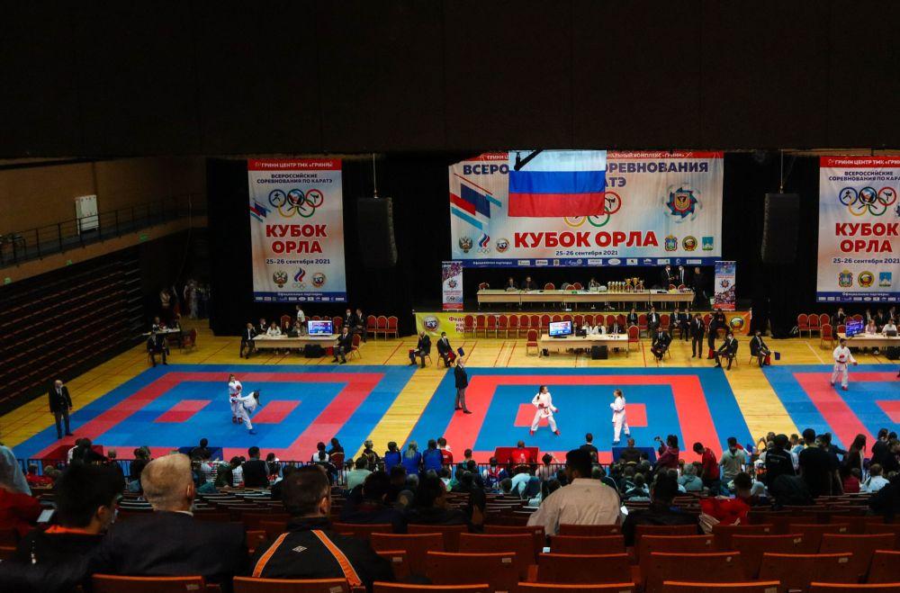 В Орловской области стартовали Всероссийские соревнования по каратэ «Кубок Орла»